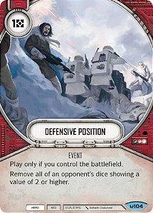 Posição Defensiva - Defensive Position