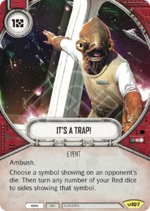 É uma Armadilha! - It's a Trap!