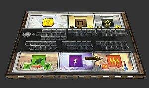 Kit Dashboards para Terrafoming Mars - 5 Unidades