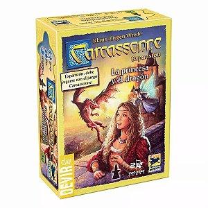 A Princesa e o Dragão 2ª ED - Expansão de Carcassonne