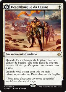 XLN022 - Desembarque da Legião (Legion's Landing)
