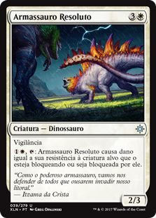 XLN039 - Armassauro Resoluto (Steadfast Armasaur)
