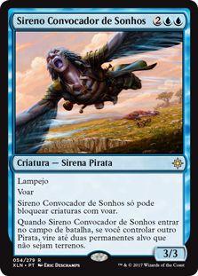 XLN054 - Sireno Convocador de Sonhos (Dreamcaller Siren)