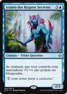 XLN059 - Arauto dos Regatos Secretos (Herald of Secret Streams)