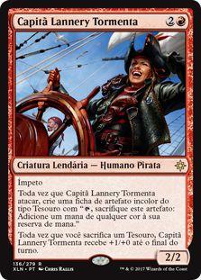 XLN136 - Capitã Lannery Tormenta (Captain Lannery Storm)