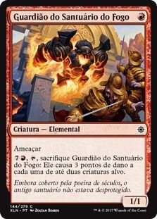 XLN144 - Guardião do Santuário do Fogo (Fire Shrine Keeper)