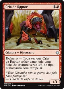 XLN155 - Cria de Raptor (Raptor Hatchling)
