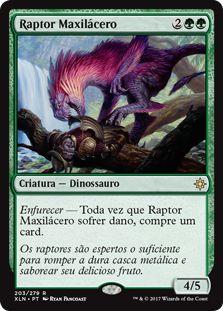 XLN203 - Raptor Maxilácero (Ripjaw Raptor)