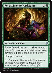 XLN212 - Renascimento Verdejante (Verdant Rebirth)