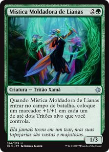 XLN214 - Mística Moldadora de Lianas (Vineshaper Mystic)