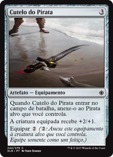 XLN242 - Cutelo do Pirata (Pirate's Cutlass)
