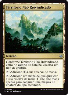 XLN258 - Território Não Reivindicado (Unclaimed Territory)