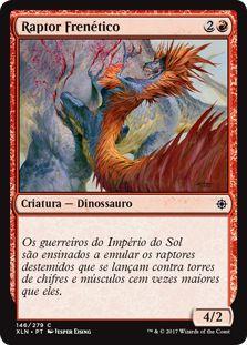 XLN146 - Raptor Frenético (Frenzied Raptor) FOIL