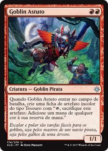XLN174 - Goblin Astuto (Wily Goblin) FOIL