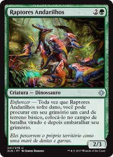 XLN201 -  Raptores Andarilhos (Ranging Raptors) FOIL