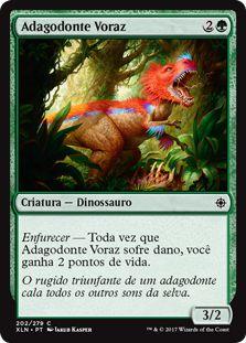 XLN202 - Adagodonte Voraz (Ravenous Daggertooth) FOIL