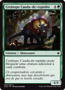 XLN209 - Cerátopo Cauda‑de‑espinho (Spike-Tailed Ceratops) FOIL