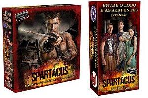 Combo Spartacus: Jogo e Expansão
