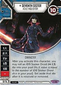 SWDEAW010 - Sétima Irmã Inquisidora Ágil - Seventh Sister Agile Inquisitor