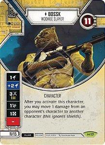 SWDEAW017 - Bossk Caçador Wookie - Bossk Wookiee Slayer