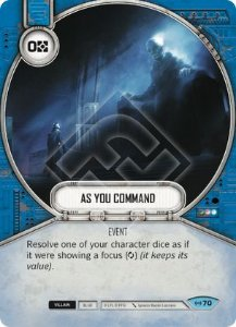 SWDEAW070 - Às Suas Ordens - As You Command