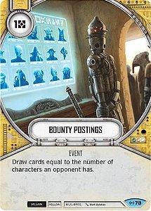 SWDEAW079 - Registros de Recompensas - Bounty Postings