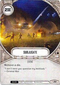 SWDTPG022 - Subjugar - Subjugate