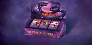 Magic the Gathering - Booster Box - Iconic Masters - C/24 Boosters