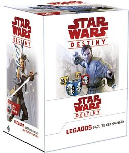 Star Wars Destiny -  Legados - 36 Boosters