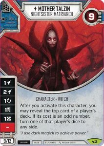 SWDLEG003 - Mother Talzin - Nightsister Matriarch