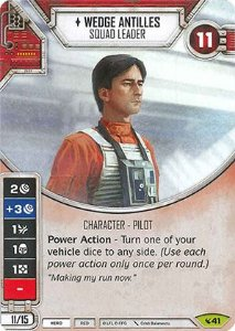 SWDLEG041 - Wedge Antilles - Squad Leader