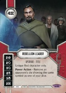SWDLEG045 - Rebellion Leader