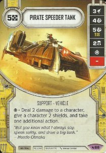 SWDLEG066 - Pirate Speeder Tank