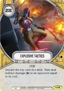 SWDLEG118 - Explosive Tactics