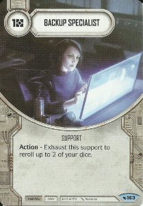 SWDLEG163 - Backup Specialist