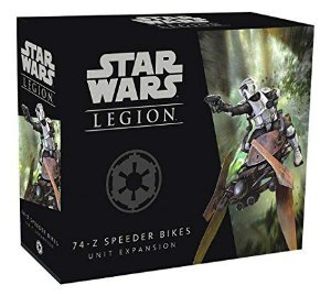 Star Wars Legion - Expansão Speeder Bikes 74-Z [BLACK NOVEMBER]