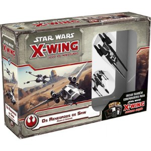 Os Renegados de Saw - Expansão de Star Wars X-Wing (PRÉ-VENDA)