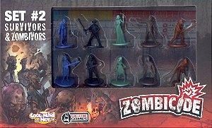 SET #2 Survivors & Zombivors - Expansão de Zombicide