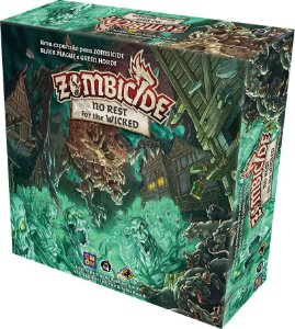 No Rest for the Wicked - Expansão de Zombicide Green Horde