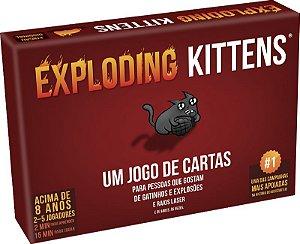 Exploding Kittens (PRÉ-VENDA)