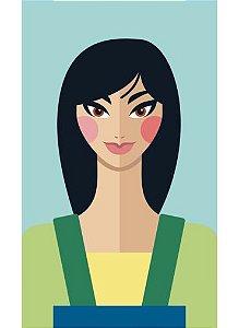 Ímã - Mulan - Princesas da Disney