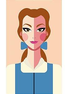 Ímã - Bela - Princesas da Disney