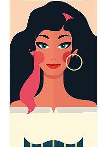 Ímã - Esmeralda - Princesas da Disney