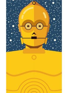 Ímã - C-3PO - Star Wars