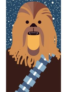Ímã - Chewbacca - Star Wars