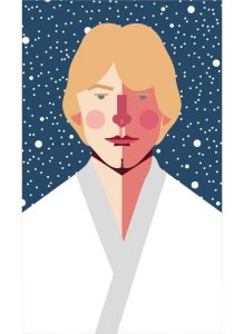 Ímã - Luke Skywalker - Star Wars