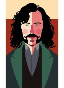 Ímã - Sirius Black - Harry Potter