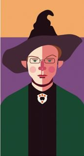 Ímã - Minerva McGonagall - Harry Potter