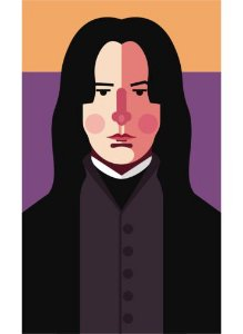 Ímã - Snape - Harry Potter
