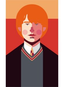 Ímã - Rony Weasley - Harry Potter
